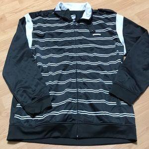 Ecko Men's long Sleeve full zip up top size 2XL
